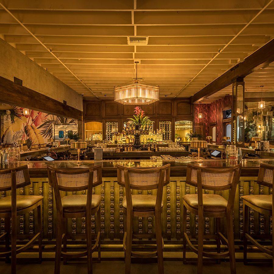dama restaurant art deco bar