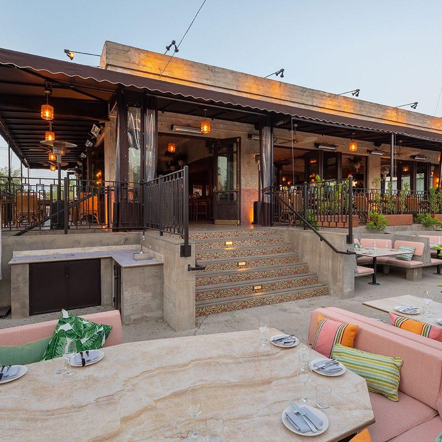 latin restaurant patio